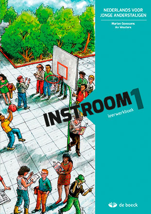 'Instroom' - Cover lay-out en illustraties (uitgeverij de boeck)